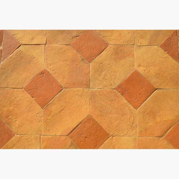 Pavimenti per interni in cotto - Losanga Color misto
