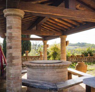 Il cotto in giardino 1 - Cotto del Perugino