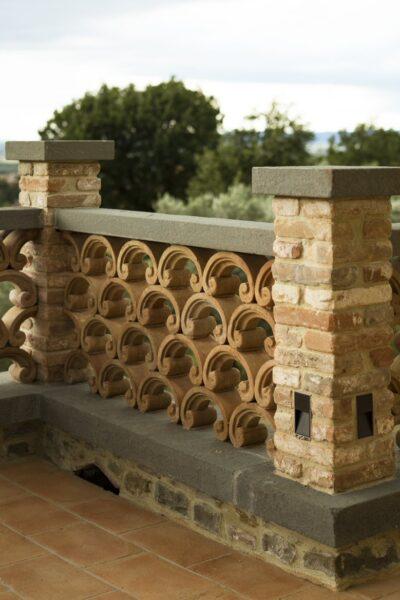 Il cotto in giardino 5 - Cotto del Perugino