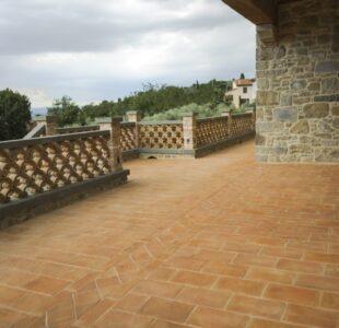 Il cotto in giardino 7 - Cotto del Perugino
